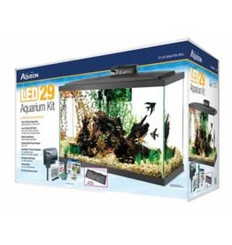 AQUEON PRODUCTS-SUPPLIES PREPRICED KIT LED BLACK 29 gallon