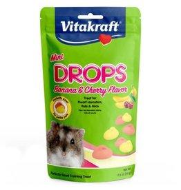 Mini Hamster Drops cherry/banana 2.5oz