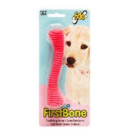 Fido Fido Puppy's First Bone Mid Pink