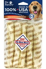 PET FACTORY CLEAR PB BASTED CHIP ROLL 5pl