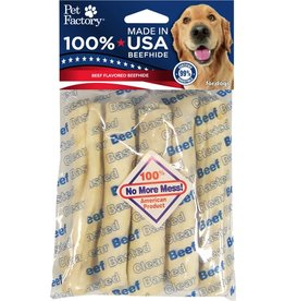 PET FACTORY CLEAR BEEF BASTED CHIP ROLL 5-6