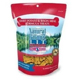 NATURAL BALANCE PET FOODS 8OZ LIT BISON/B.RICE SB