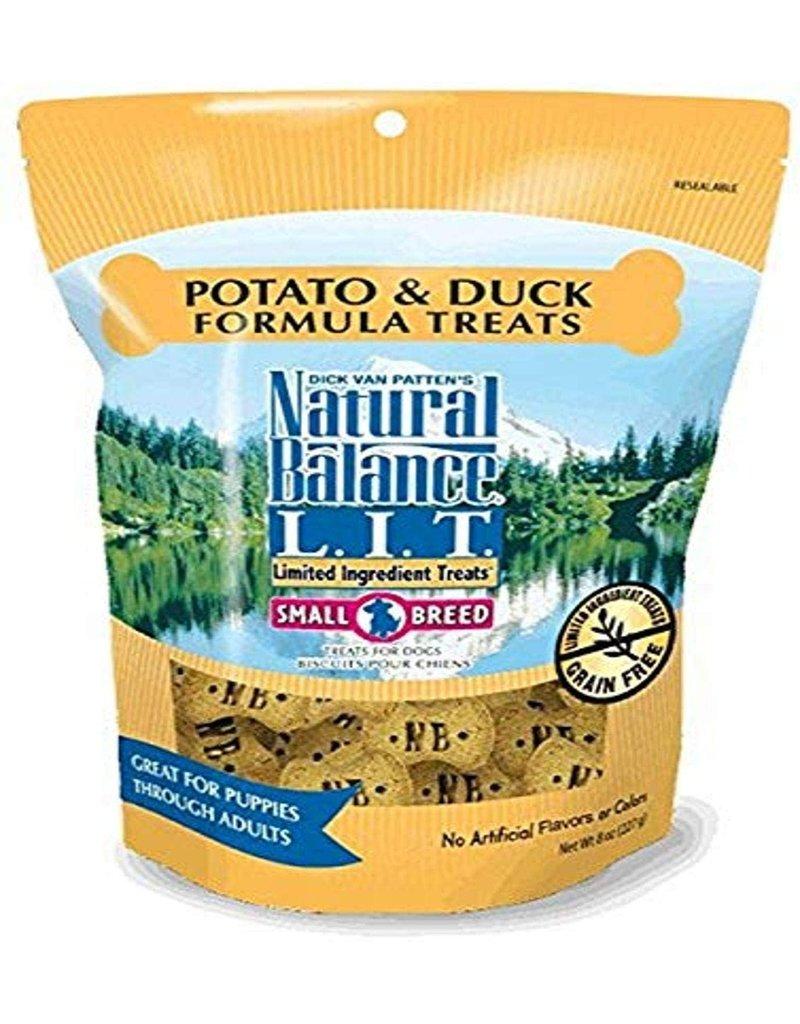 NATURAL BALANCE PET FOODS 8OZ LIT DUCK/POTATO SB