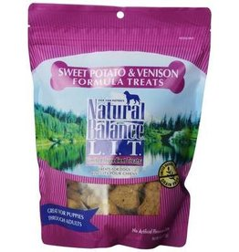 NATURAL BALANCE PET FOODS 14OZ LIT VENISON/SWT POTATO