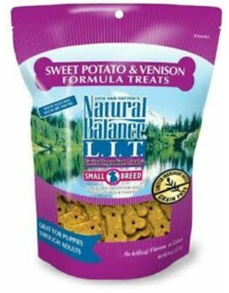 NATURAL BALANCE PET FOODS 8OZ LIT VENISON/SWT POTATO SB