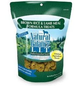 NATURAL BALANCE PET FOODS 8OZ LIT LAMB/B.RICE SB