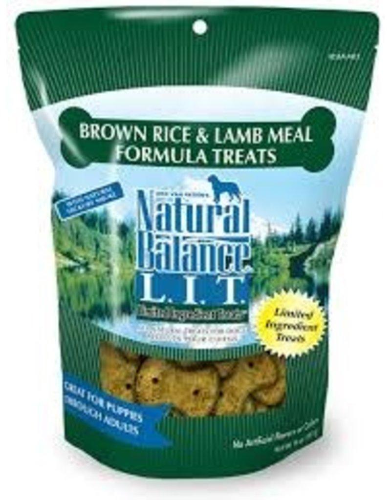 NATURAL BALANCE PET FOODS 8OZ LIT LAMB/B.RICE SB