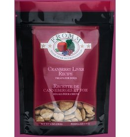 Fromm Fromm 6 oz Dog Cranberry Liver Training Treats Low Fat EA