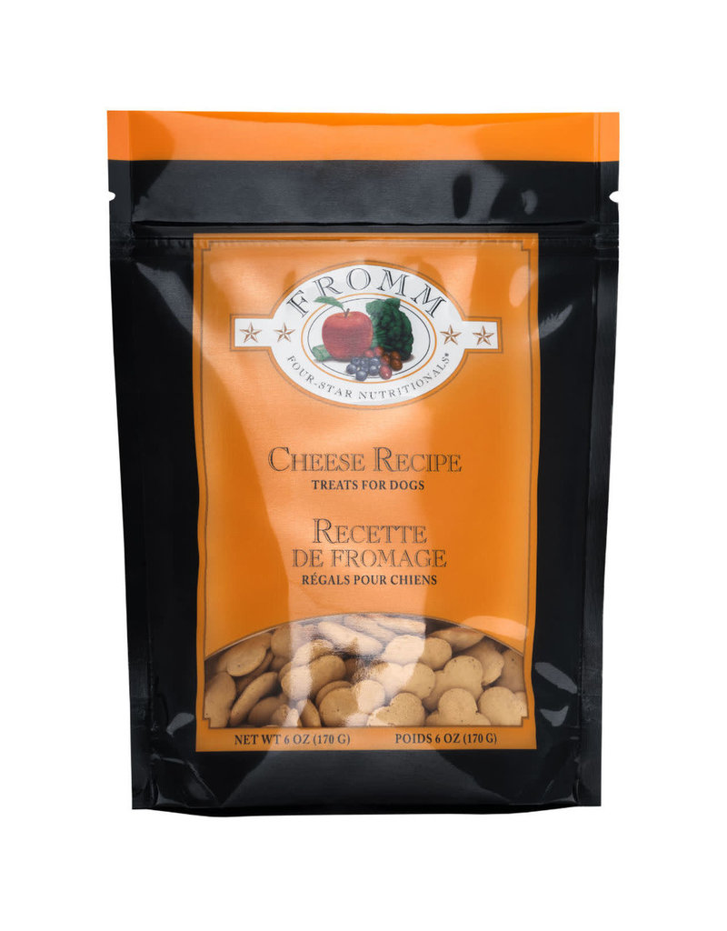 Fromm Fromm 6 oz Dog Cheese Training Treats Low Fat EA