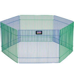 "MIDWEST CONTAINER SM ANIMAL PLAYPEN 6 PANEL 15"" High x 36"" Wide"