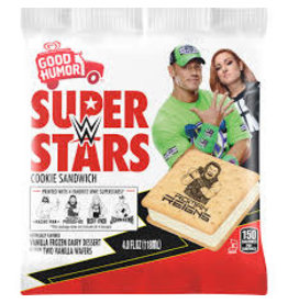 GOOD HUMOR WWE Superstars Vanilla Ice Cream Sandwich