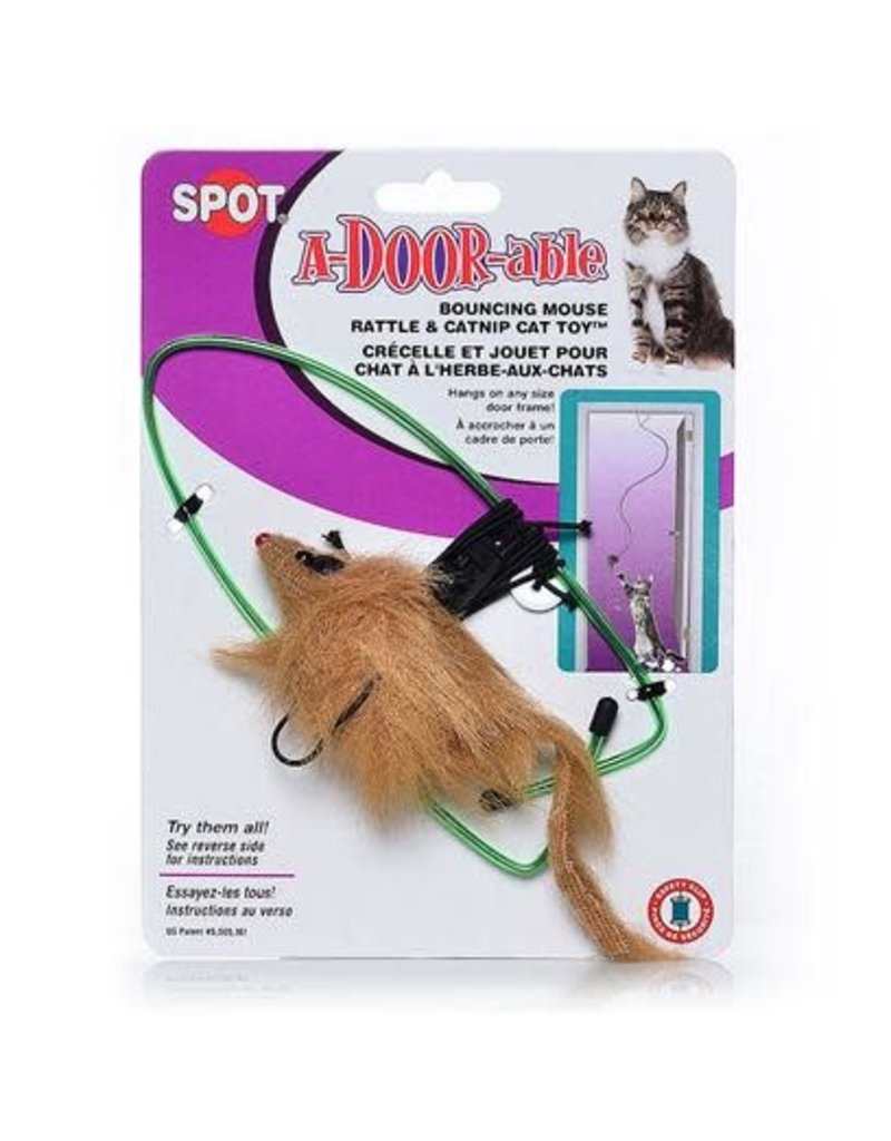 SPOT A-DOOR-ABLE BOUNCING MOUSE