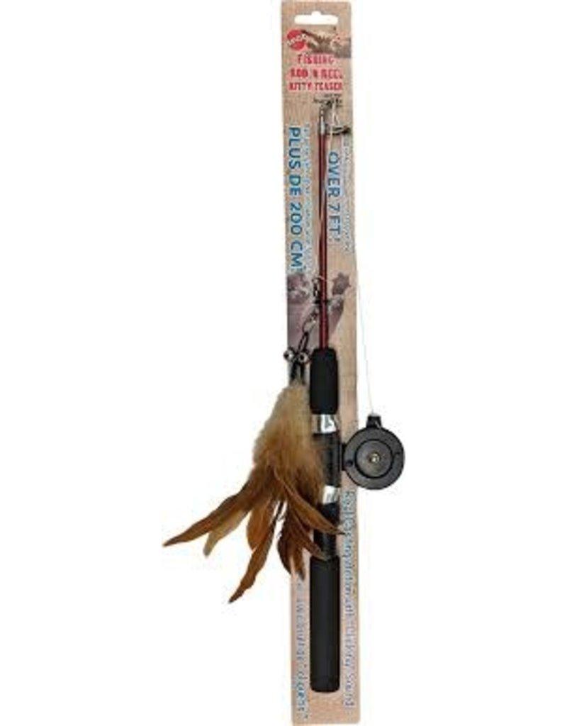 SPOT FISHING ROD N REEL TEASER