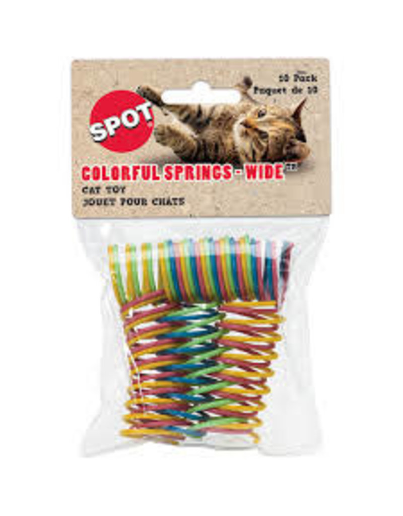 SPOT ETHICAL PRODUCTS COLORFUL SPRINGS - WIDE 10/PK