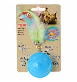 SPOT ETHICAL PRODUCTS TIE DYE ROLLER BALL CAT TOY