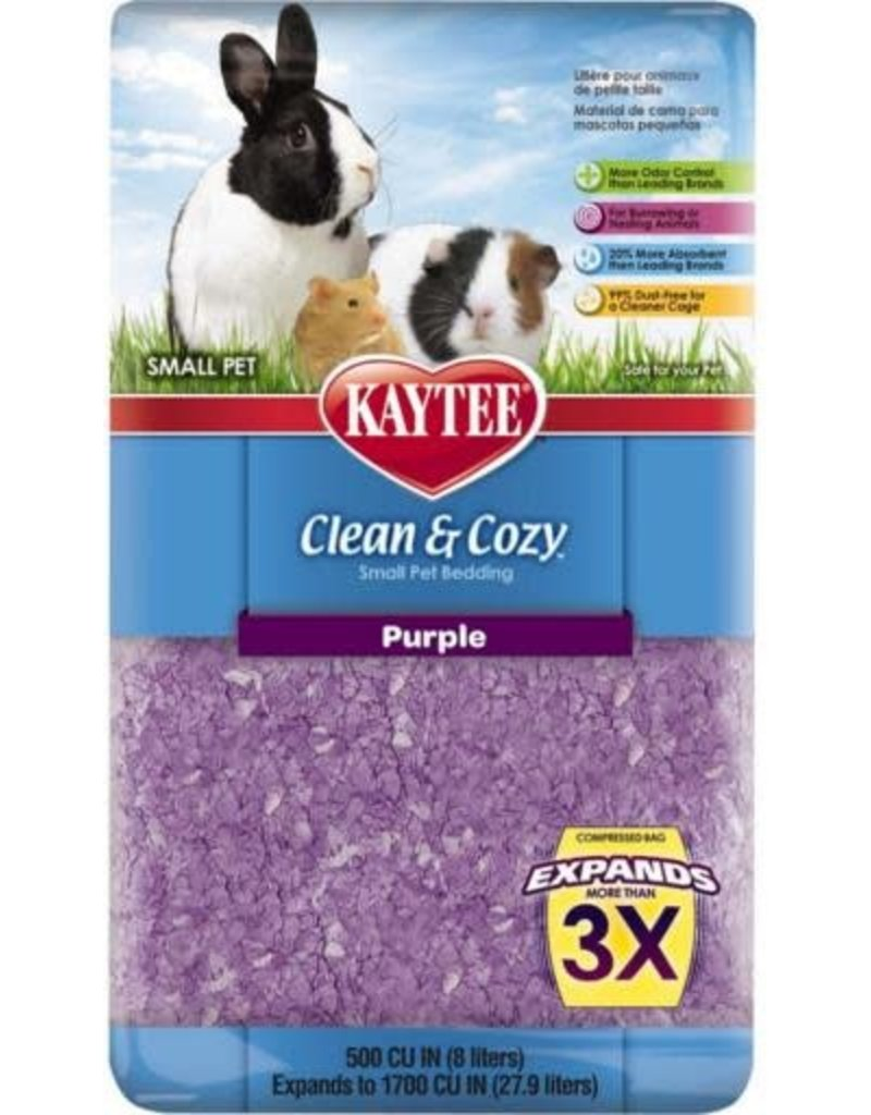 KAYTEE PRODUCTS INC CLEAN & COZY Purple 1500CI
