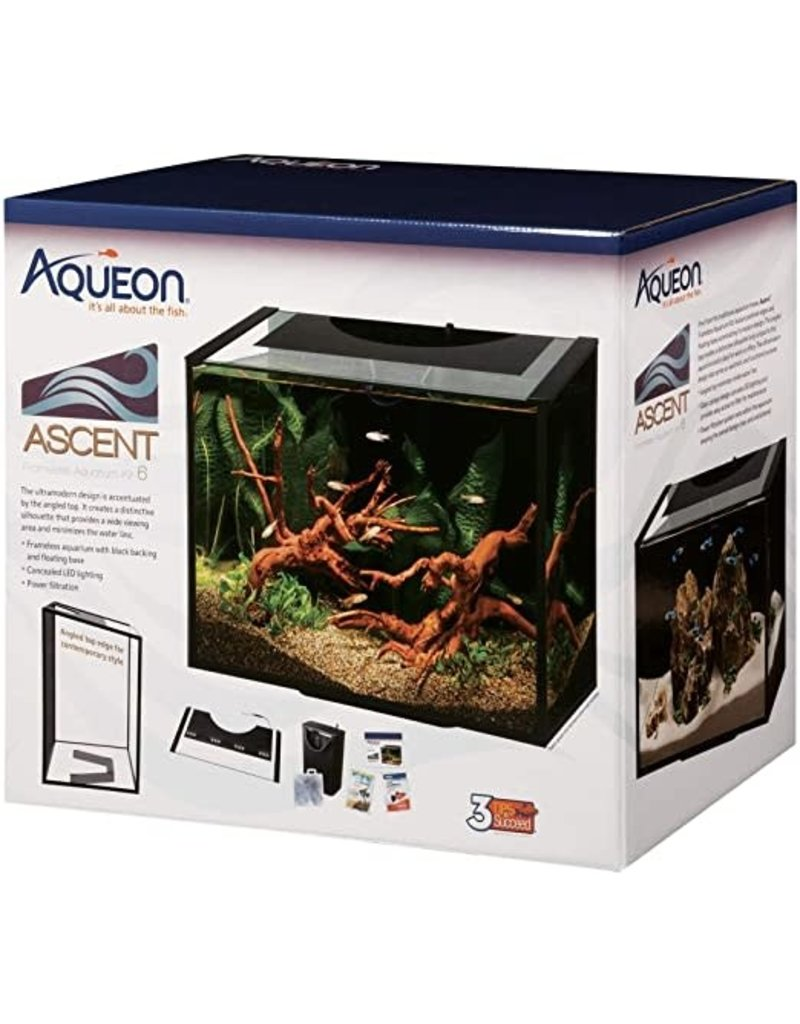 AQUEON PRODUCTS - GLASS ASCENT LED AQUAR KIT 10 GAL