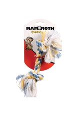 MAMMOTH PET PRODUCTS CHEW ROPE BONE SM ASST. COLORS