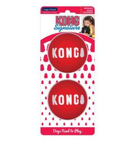 KONG COMPANY SIGNATURE BALLS 2PK LG