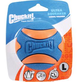 CHUCK-IT ULTRA SQUEAKER BALL LG