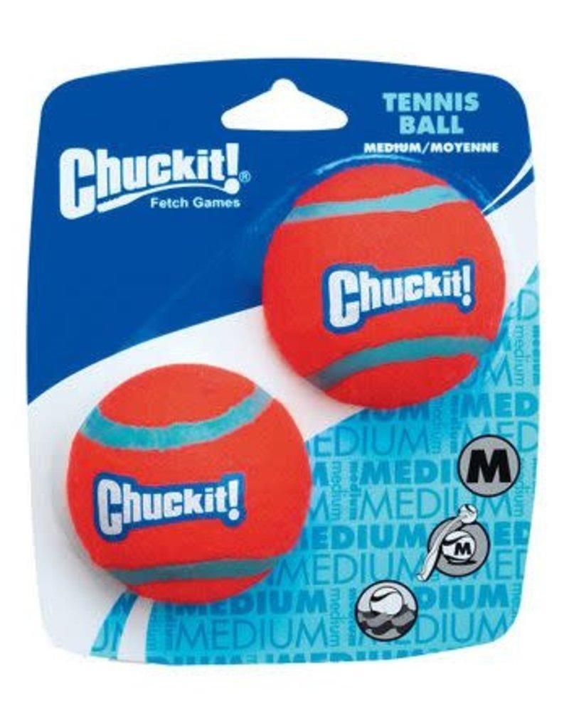 CHUCK-IT CHUCK IT TENNIS BALL MED 2PK