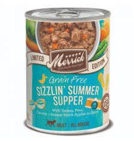 MERRICK PET FOODS MER Sizzlin Summer Supper 12.7z