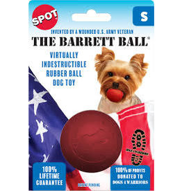 """SPOT ETHICAL PRODUCTS BARRETT BALL SM 2.5"""" RED"""