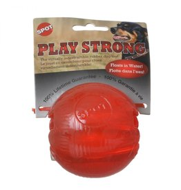 SPOT ETHICAL PRODUCTS SPOT PLAY STRONG RUBBER BALL MED