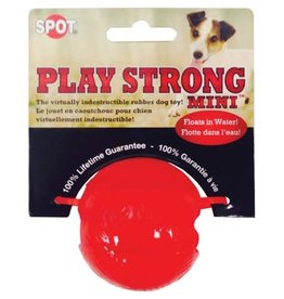 SPOT ETHICAL PRODUCTS SPOT PLAY STRONG RUBBER BALL MINI
