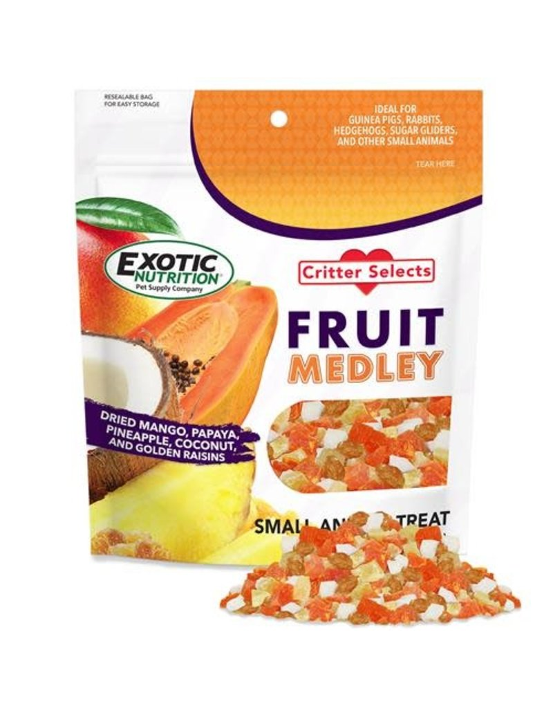 Exotic Nutrition Critter Selects Fruit Medley Small Animal Treat