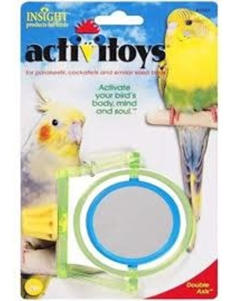 JW DOUBLE AXIS MIRROR TOY