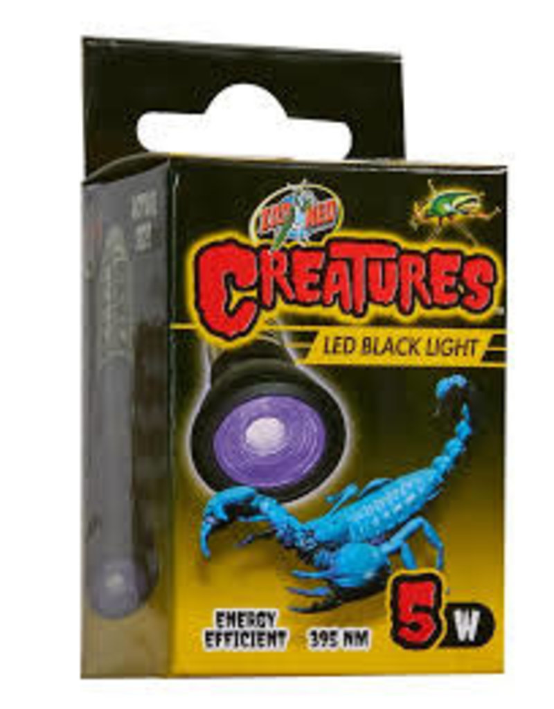 ZOO MED LABORATORIES INC CREATURES BLACK LIGHT 5W