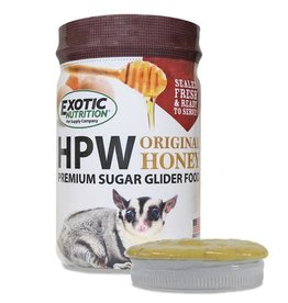Exotic Nutrition Exotic Nutrition HPW Original Honey Premium Sugar Glider Food 12oz.