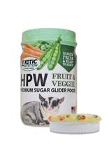 Exotic Nutrition Exotic Nutrition HPW Fruit & Veggie Premium Sugar Glider Food 12oz.