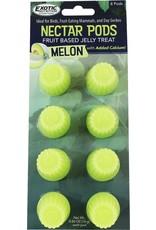 Exotic Nutrition Exotic Nutrition Nectar Pods Melon Treat 8pk.