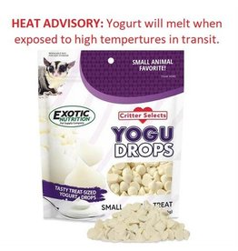 Exotic Nutrition Exotic Nutrition Critter Selects Yogurt Drops 5.5oz.
