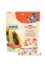 Exotic Nutrition Exotic Nutrition Critter Selects Yogu Drops with Papaya 4.5oz.