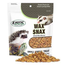 Exotic Nutrition Exotic Nutrition Wax Snax Dried Wax Worms Small Animal Treat 1oz.