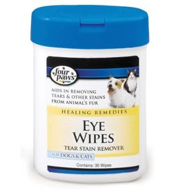Four Paws Eye Wipes For Dogs & Cats 30ct