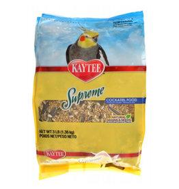 KAYTEE PRODUCTS INC KAYTEE SUPREME COCKATIEL FOOD 3LB