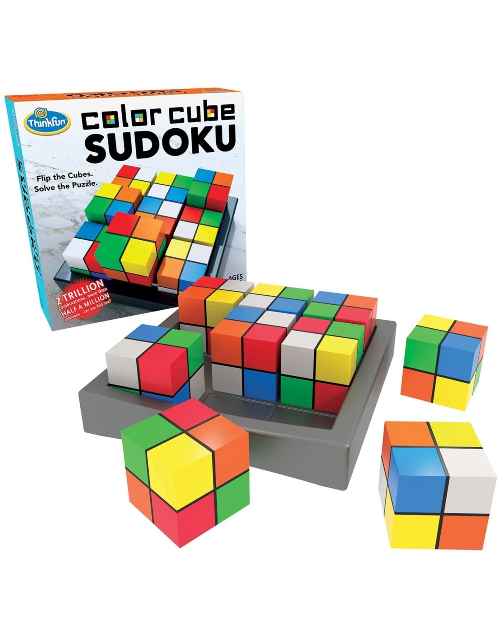 Think Fun Color Cube Sudoku