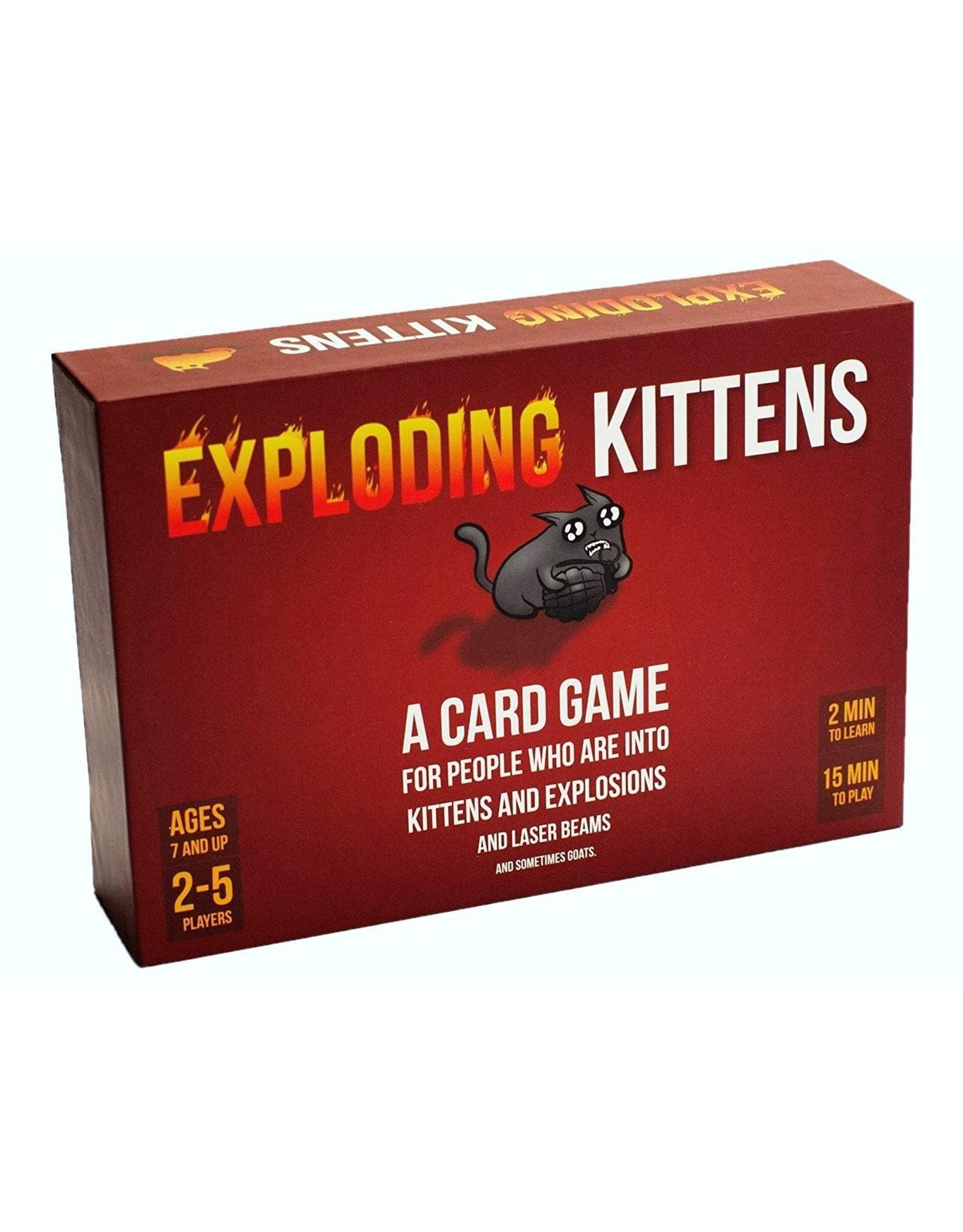 Exploding Kittens Exploding Kittens - Original Game