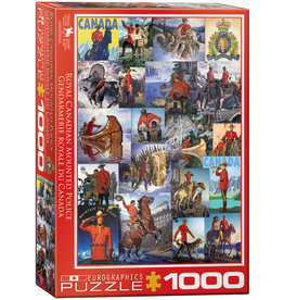 Eurographics RCMP Collage 1000-Piece Puzzle