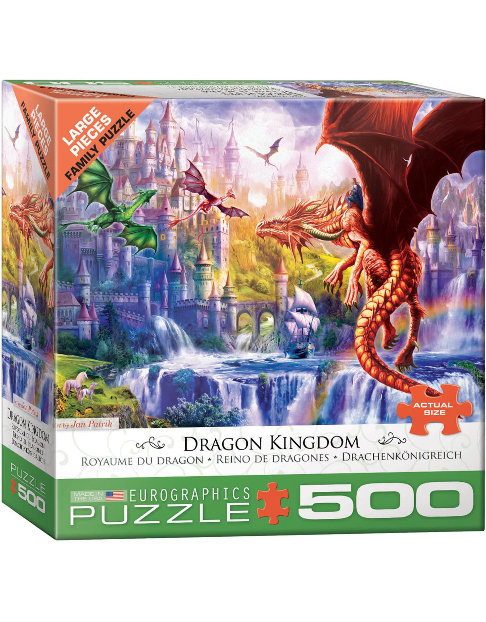 Eurographics Dragon Kingdom 500pc