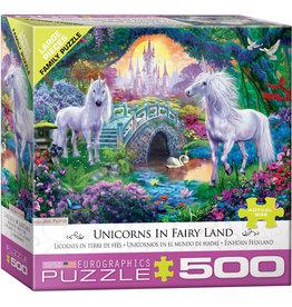 Eurographics Unicorns in Fairy Land 500-Piece Puzzle