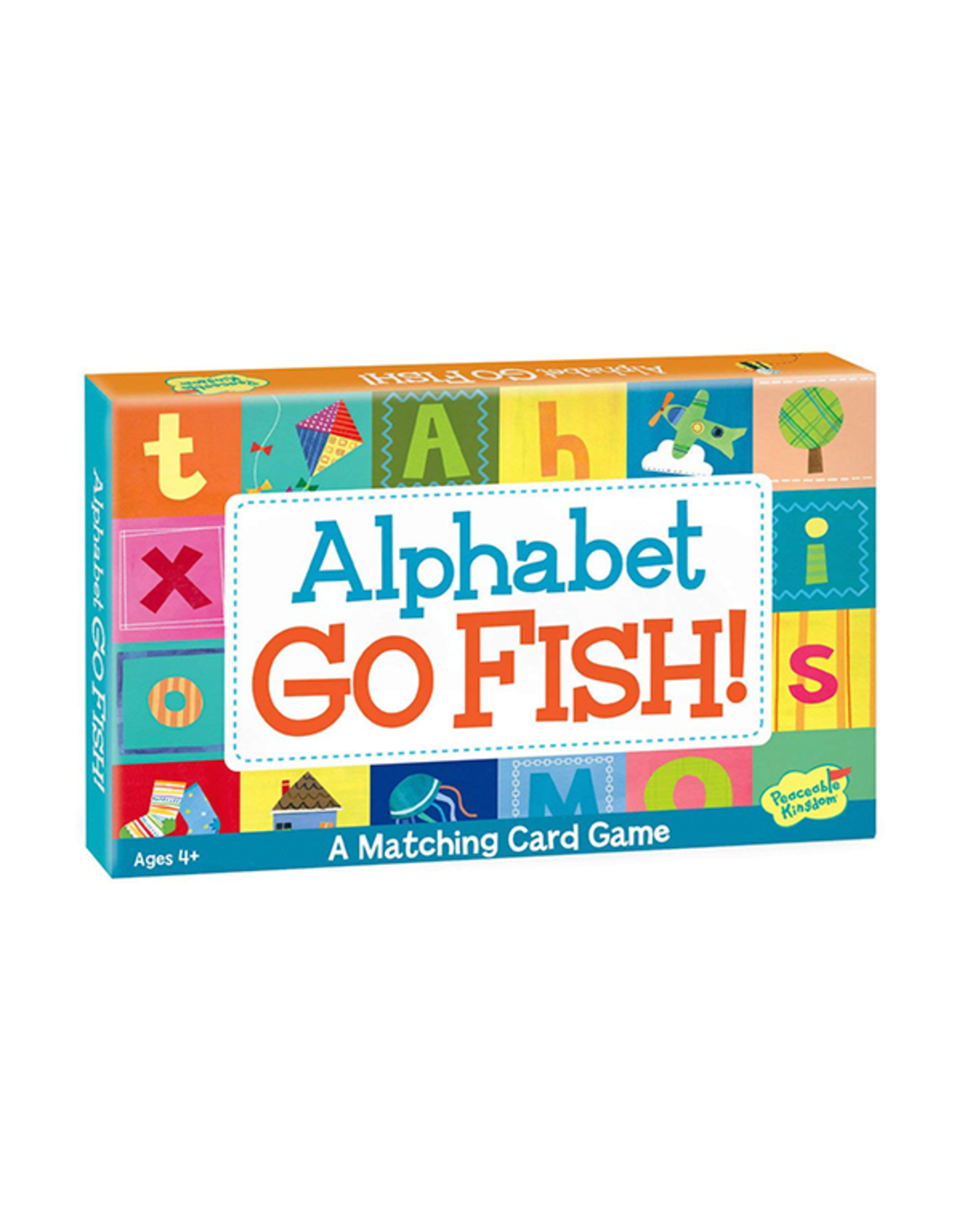 Peaceable Kingdom Alphabet Go Fish