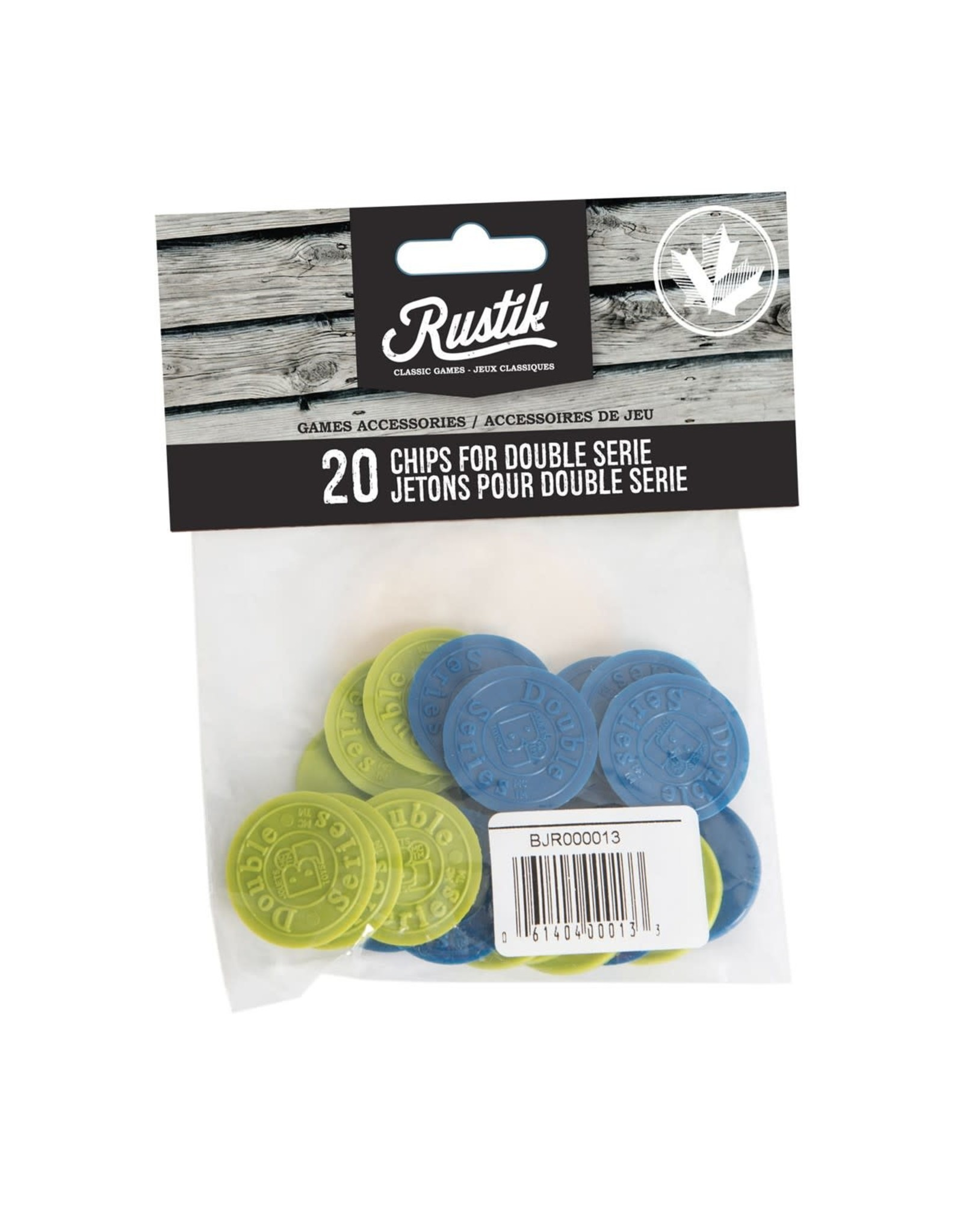 Rustik 20 Chips for Double Series Clearance