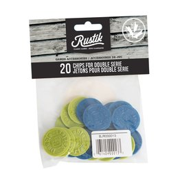 Rustik 20 Chips for Double Series