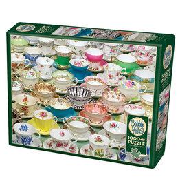 Cobble Hill Teacups 1000 pc