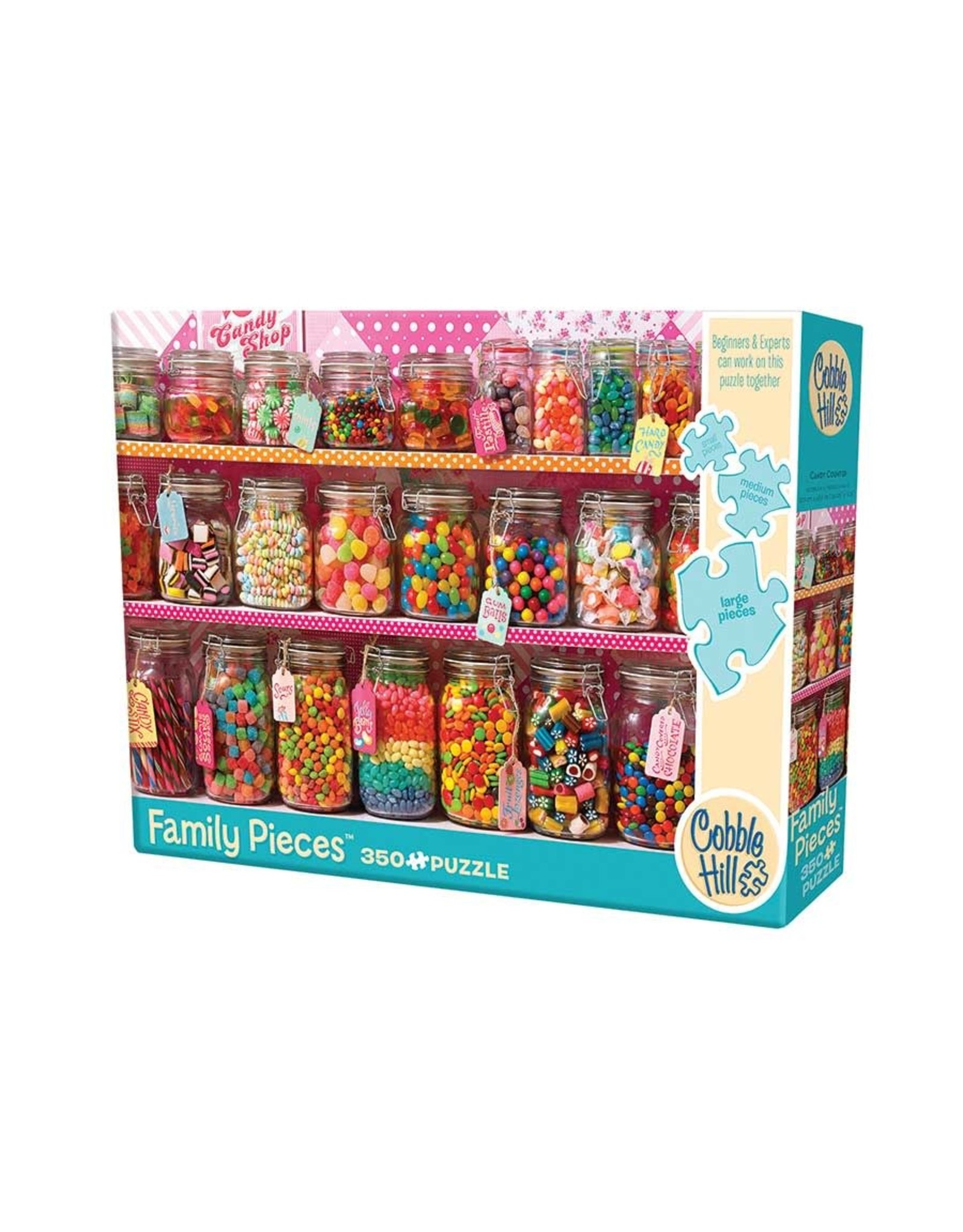 Cobble Hill Candy Counter 350 pc Family
